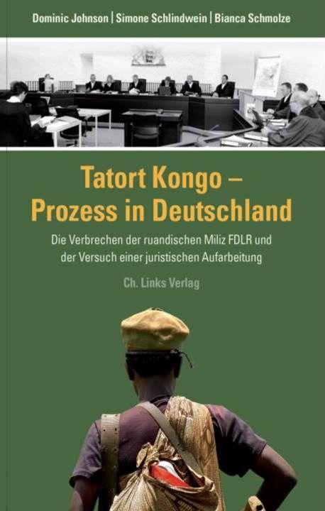 Buchcover Tatort Kongo - Prozess in Deutschland