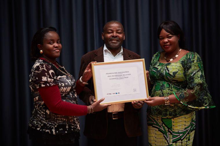 ÖNZ Friedenspreisverleihung 2015